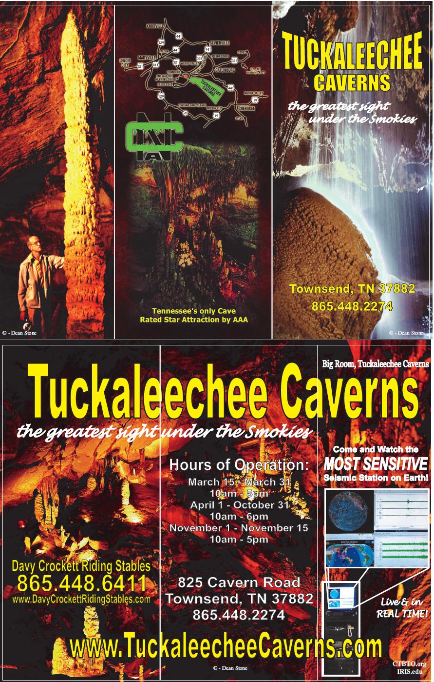 Tuckaleechee Caverns Brochure