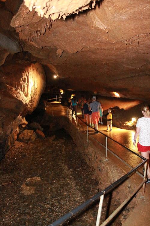 Tuckaleechee Caverns Walkways
